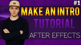 Adobe After Effects CC: How To Make An Intro - Tutorial #1