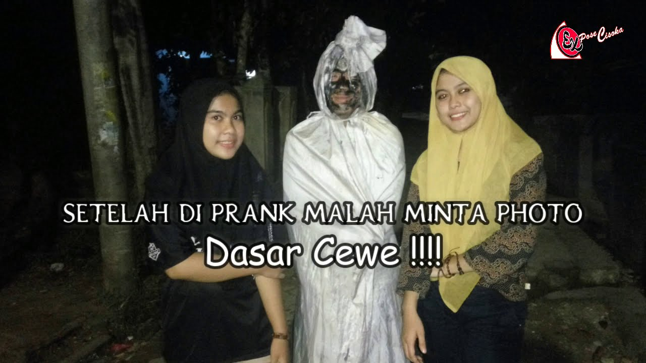 Kompilasi Prank Pocong Lucu #CEWEK CANTIK Kena Juga !!!