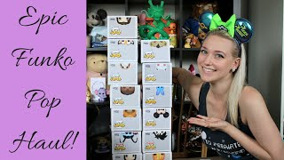 Epic Funko Pop Haul! (Disney/Harry Potter/Star Wars/Etc.)