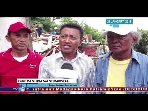 VAOVAO DU 21 JANVIER 2019 BY TV PLUS MADAGASCAR