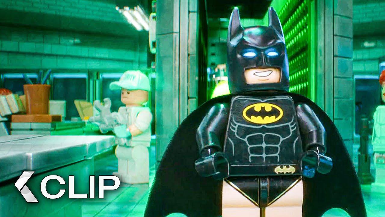 Download Visiting Joker in Arkham Asylum - THE LEGO BATMAN MOVIE Clip (2017)