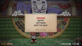 Final stage of Cuphead
