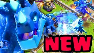 "Town Hall 12 New Troop ""ELECTRO DRAGON"" Gameplay!! - Clash Of Clans Town Hall 12 Update"