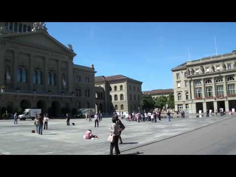 Bundesplatz, Bern, Switzerland