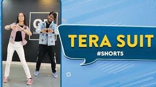 Tera Suit 🔥  Deepak Tulsyan Choreography | Akshita Goel #Shorts