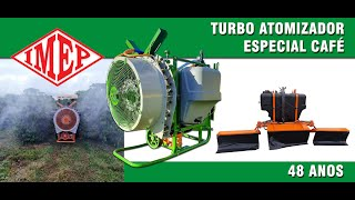 Pulverizador Turbo Atomizador e Herbicida IMEP Café