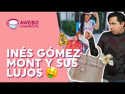 Inés Gómez Mont y sus lujos… ¿Producto del crimen? | Awebo Chismecito