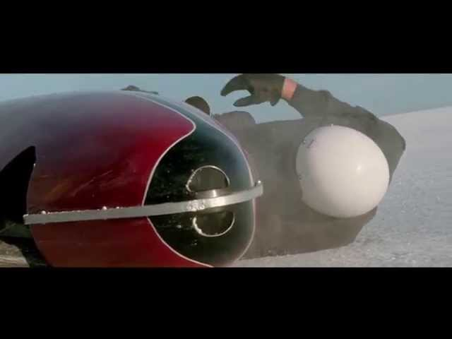 The World's Fastest Indian- Speed Record scene