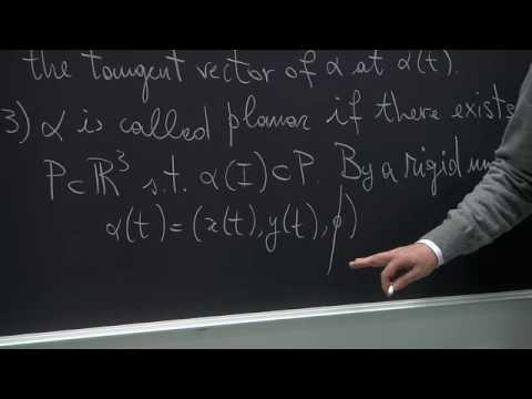 Differential Geometry - Claudio Arezzo - Lecture 01