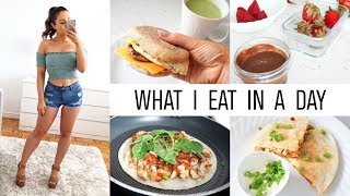 VLOG - What I Eat In A Day To Lose Weight! With Calories