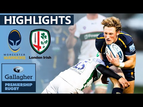 Worcester V London Irish HIGHLIGHTS | Tight Contest Ends 14 Vs 14 | Gallagher Premiership