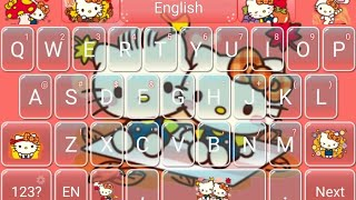 hello Kitty: Autumn Theme For Go Keyboard