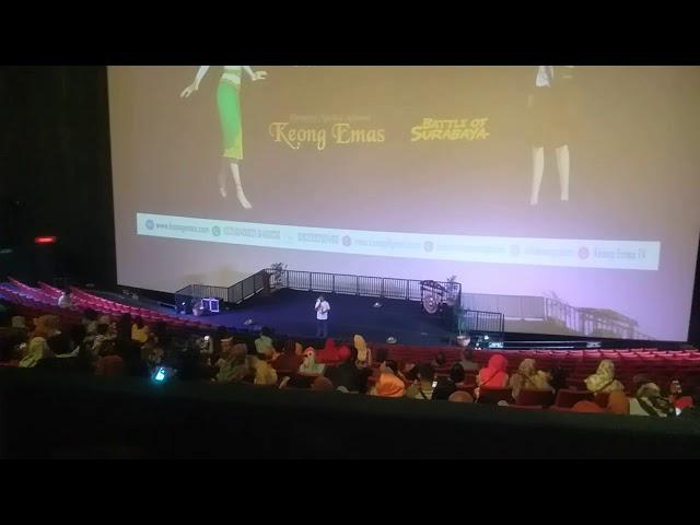Tedy Open GalaPremier Film Dongeng Musical Keongemas TMII