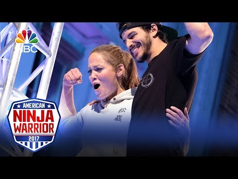 Erika Christensen's Run  Celebrity Ninja Warrior for Red Nose Day