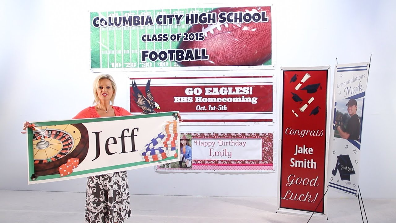 Custom Vinyl Banners Party Supplies Personalized
