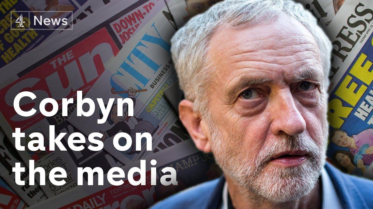 Jeremy Corbyn's speech on media reform, tech tax and fake news (full)