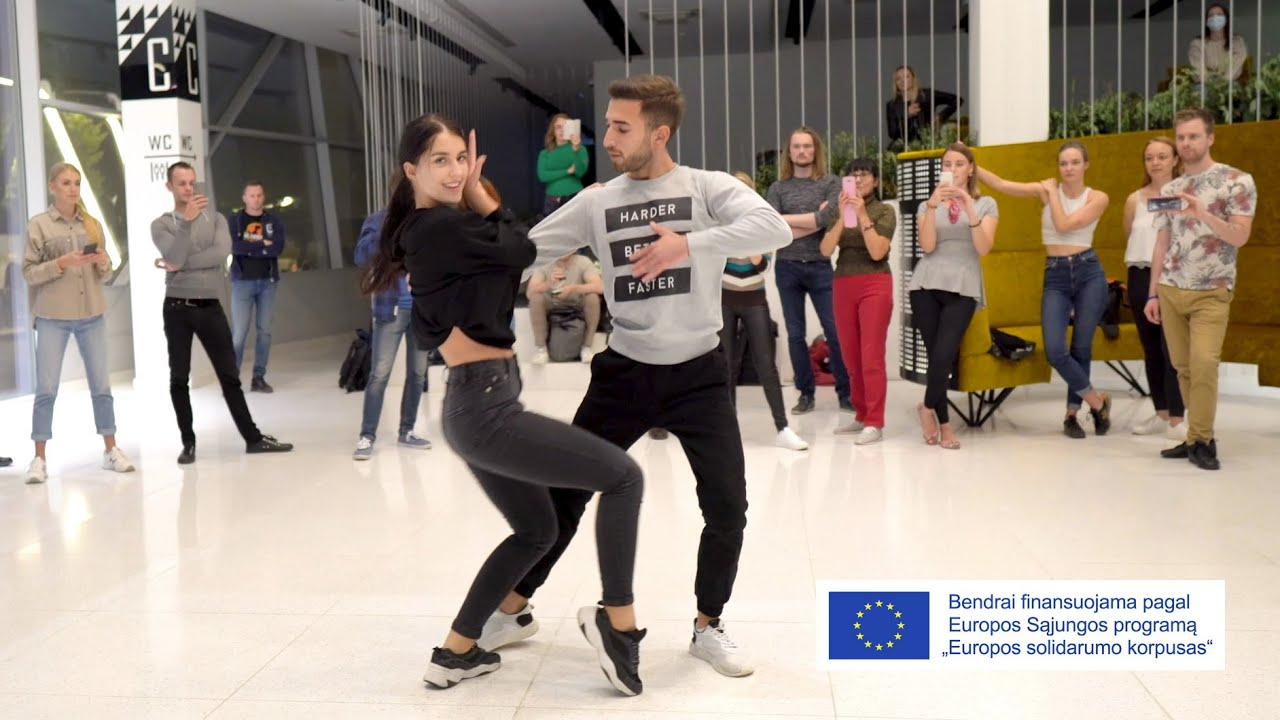 Download Huseyn & Andzelika Bachata Class / European Solidarity Corps Project
