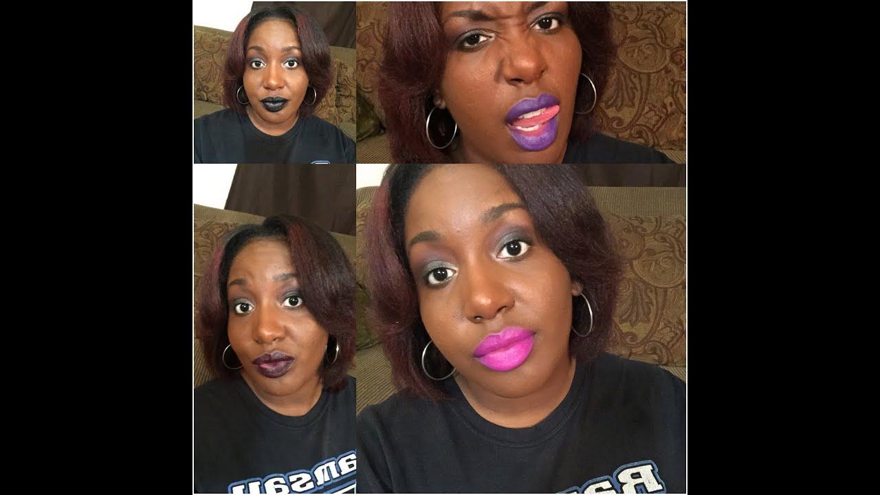 Impulse Cosmetics Haul + Lip Swatches - YouTube