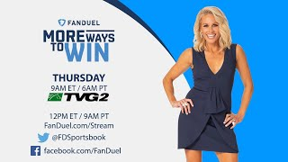 More Ways to Win LIVE: NFL Futures, Week 1 Lines & More!