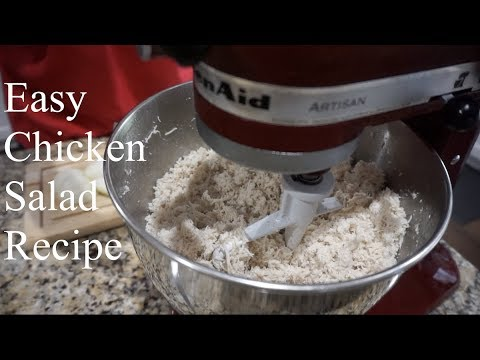 Easy Chicken Salad Recipe | How To Make Chicken Salad | Southern Smoke Boss