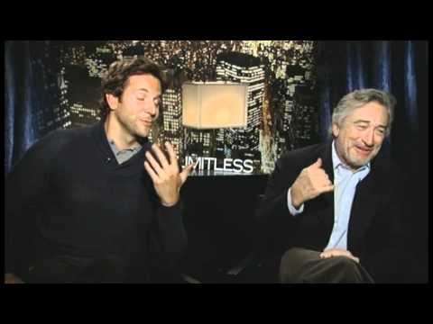 LIMITLESS Interview with Bradley Cooper & Robert De Niro