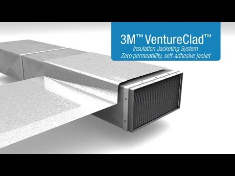 3M™ VentureClad™ Insulation Jacketing System