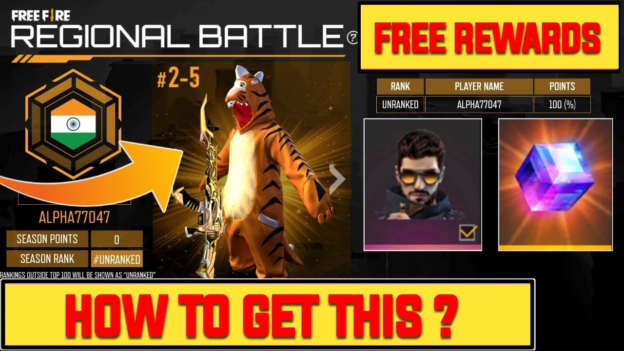 (Free Fire New Event) | Regional Battle Event In Free Fire | Regional Battle Event Full Information