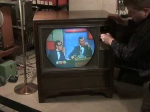 Watch A 1965 Rca Victor Roundie Color Television