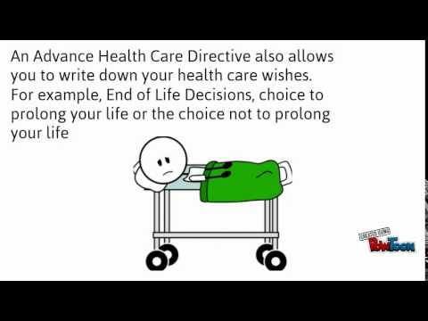 Advance Healthcare Directive Training Video