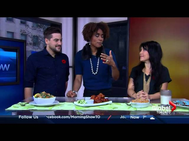 hot for food on The Morning Show (Global TV Toronto)
