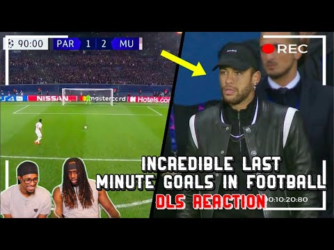 Download Incredible Last Minute Goals in Football | DLS Reaction
