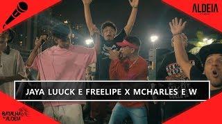 JayA Luuck e FreeLipe x MCharles e W | SEMIFINAL | 128ª Batalha da Aldeia | Barueri | SP