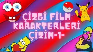 Çizgi Film Karakterleri Çizimi  Çizgi Film