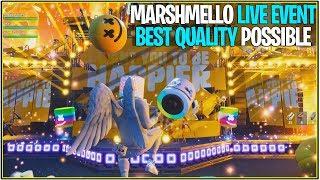 *NEW* FORTNITE FULL MARSHMELLO EVENT LIVE! *Best Quality* (1080p 60fps)