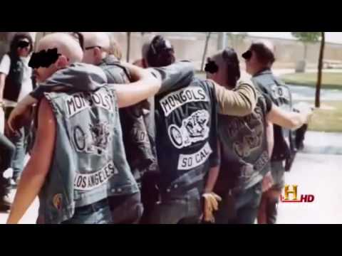 Mongols And Hells Angels Fight