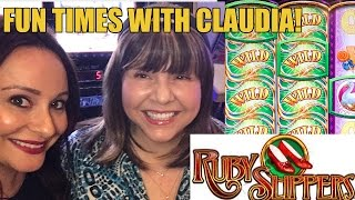 Ruby Slippers and WIlly Wonka Slot Machine Fun with Claudia(Ruby Slippers and WIlly Wonka Slot Machine Fun with Claudia at The Cosmopolitan Like Vegas Slot Videos by Dianaevoni on Facebook: ..., 2016-11-13T17:45:46.000Z)