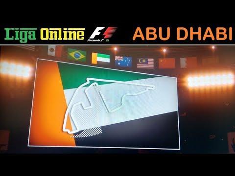 GP de Yas Marine (Abu Dhabi) de F1 2017 - Liga Online F1 - Cat. Iniciantes (5ª Divisão)