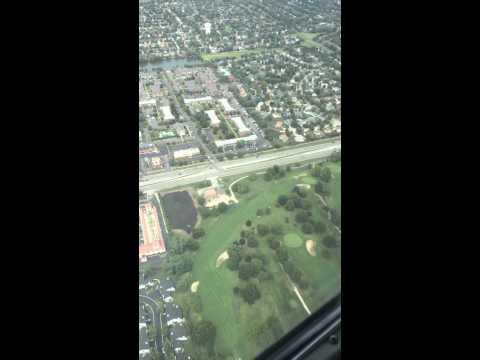 Flight over Woodridge Il.