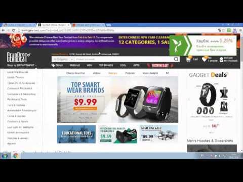 Как покупать на GearBest.com с кэшбэком от LetyShops