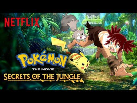 Pokémon the Movie: Secrets of the Jungle Trailer   Netflix Futures