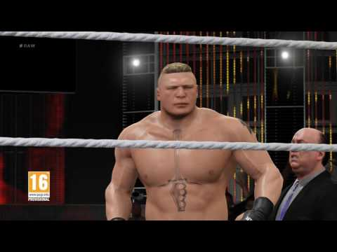 WWE 2K17 - Brock Lesnar Entrance