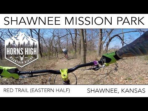 SHAWNEE MISSION PARK | EASTERN PART OF RED TRAIL | SHAWNEE | KANSAS