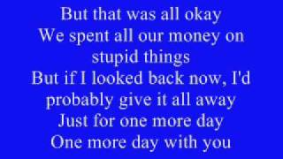 Everytime-Simple Plan Lyrics