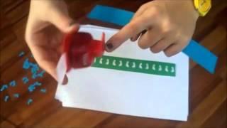 Vídeo dos pés com furador - FRISOS - Aplicações da Matemática