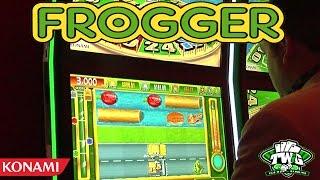 Frogger: Get Hoppin' Casino Skill Game from Konami