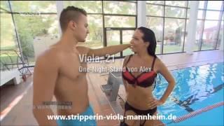 Repeat youtube video Stripperin Viola Fiore Mannheim bei Wild Wanna Bees auf Sport 1