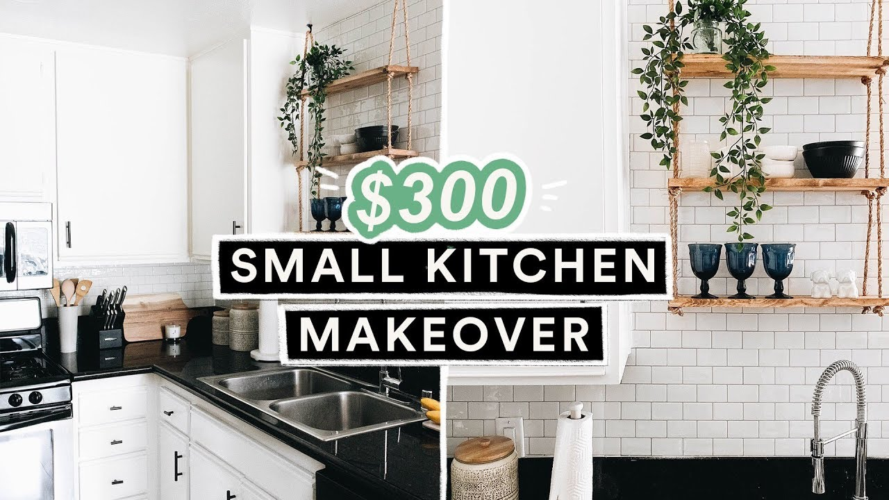 300 Diy Small Kitchen Makeover Reveal Er Budget Friendly You
