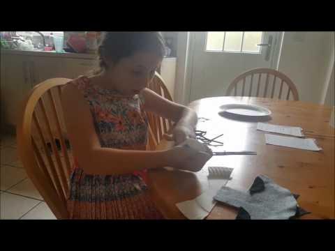 Making a Wolf Mask