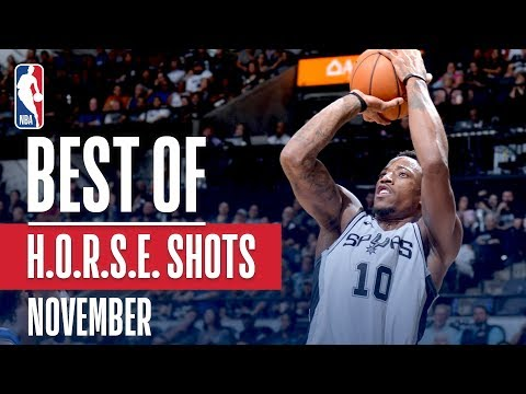 NBA's Best H.O.R.S.E. Shots | November 2018-19 NBA Season