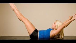 Уроки пилатеса для похудения